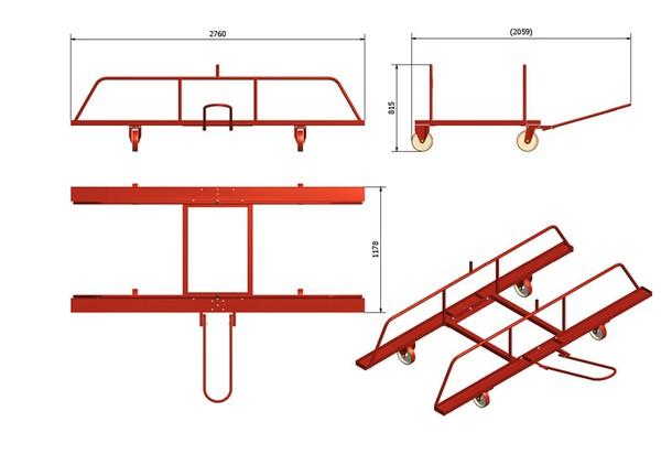 Hurdle Cart | hurdles and sprints | Mondo Spa