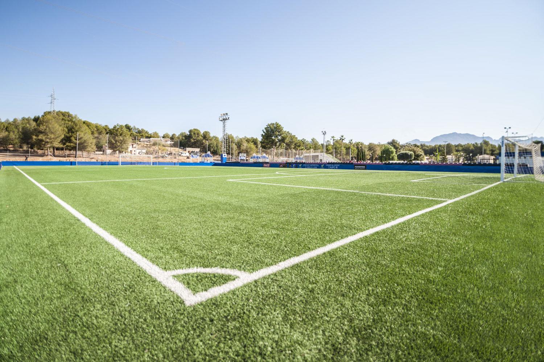 Campo da calcio a 7 La Nucia,  Alicante, Spagna © Mondo Spa