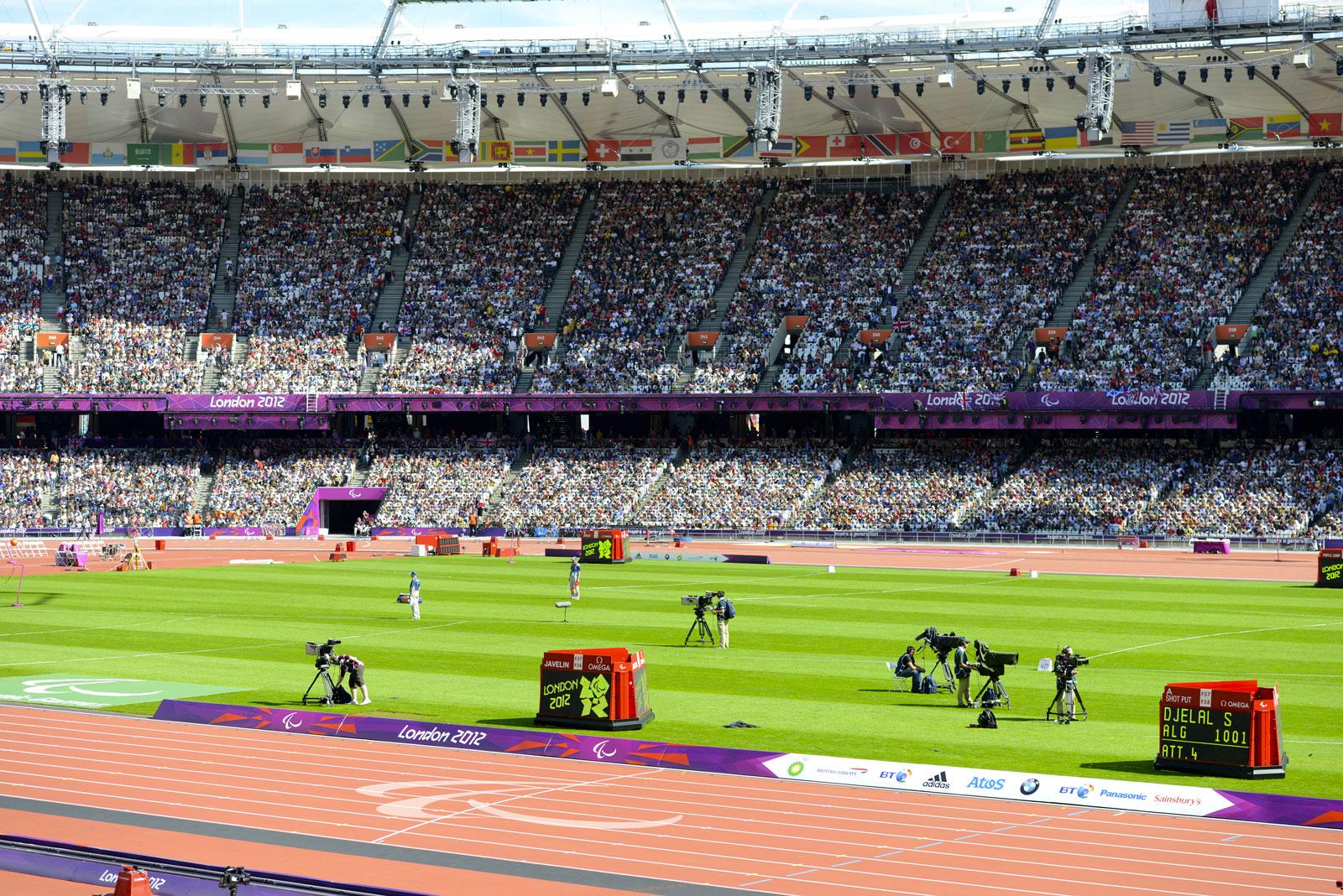 Giochi della XXX Olimpiade,  Londra,  2012 - Olympic Stadium