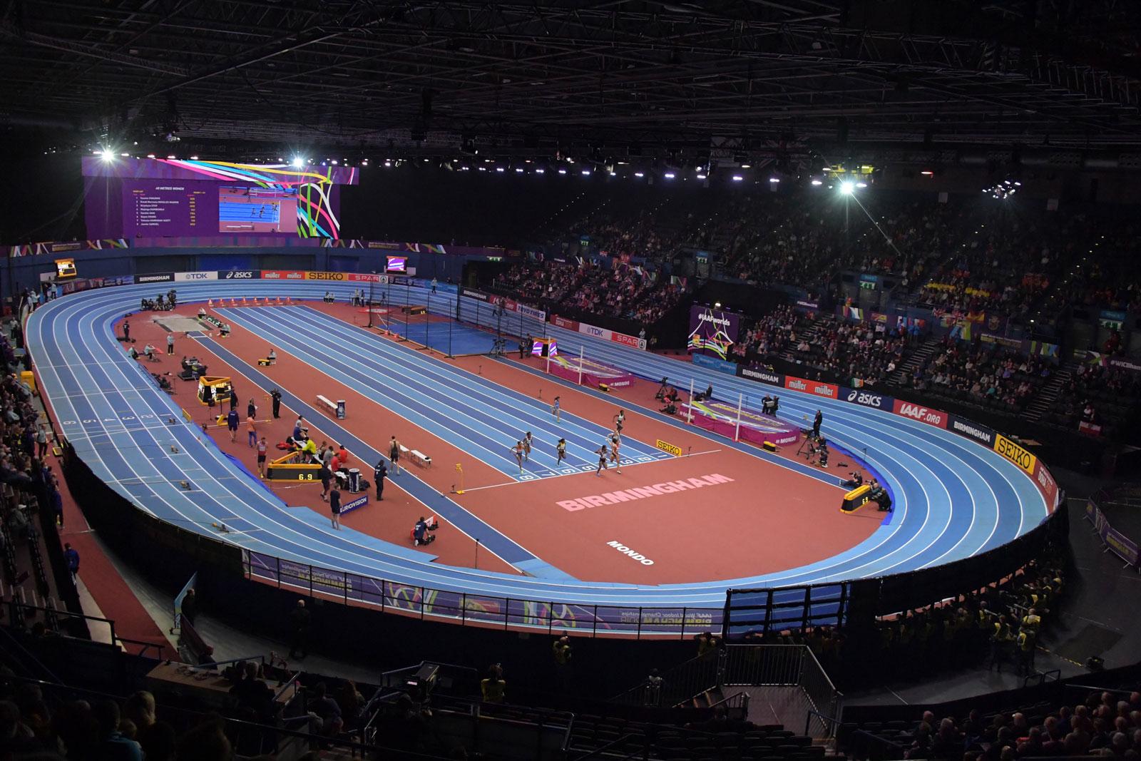 IAAF World Indoor  Championships,  Birmingham, 2018 -  Arena  Birmingham