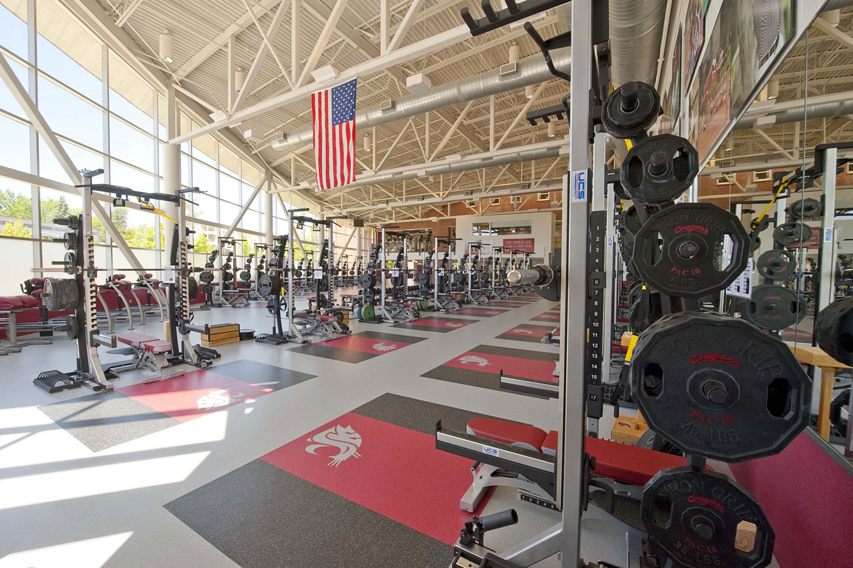 Palestra Fitness, Washington State  University, Washington, USA ©  Mondo Spa