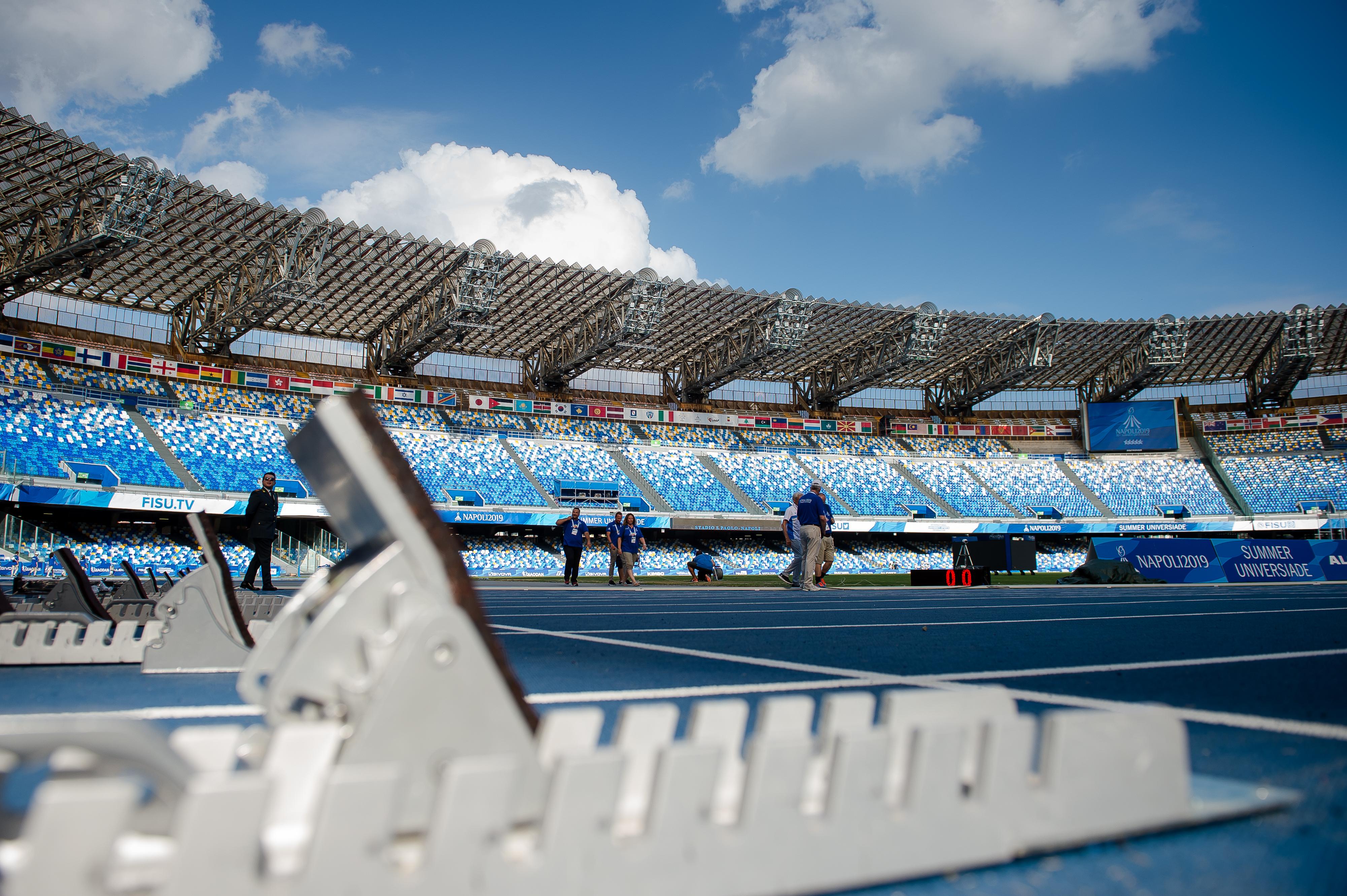 Stadio San Paolo, Napoli, Italia