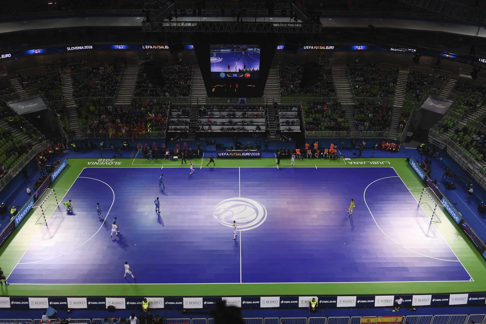 UEFA Futsal EURO 2018, Lubiana,  Slovenia